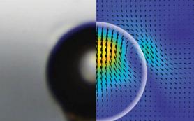 Физики впервые увидели «отражение» капли в непрерывном растворе