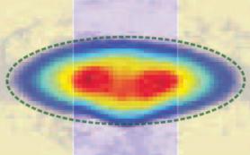 Физики обнаружили резкий рост контактного параметра при переходе газа фермионов в сверхтекучее состояние