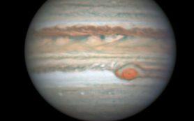 Снимок: Астрономы-любители замечают «лопасти» у Большого красного пятна Юпитера
