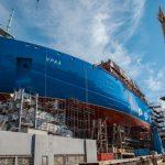 Атомный ледокол «Урал» спустили на воду