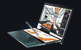 ASUS представила двухэкранные ноутбуки ZenBook Duo