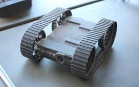 Мягкое гусеничное шасси увеличило проходимость робота