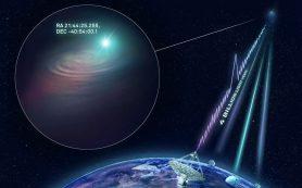 Таинственная быстрая радиовспышка локализована второй раз в истории астрономии