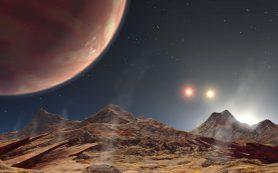В небе этой экзопланеты можно увидеть три «солнца»