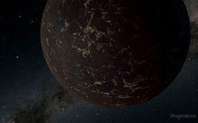 Астрономы обнаружили необычную каменистую планету, лишенную атмосферы