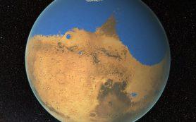 Редкие метеориты могли формироваться в ходе столкновения на «влажном» Марсе
