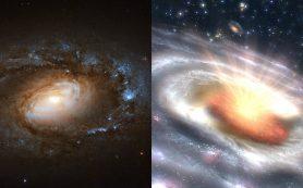 Шесть галактик внезапно загадочным образом «обезумели»