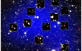 Обнаружен самый древний галактический протокластер