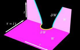 Теоретики предложили схему возникновения проходимой кротовой норы