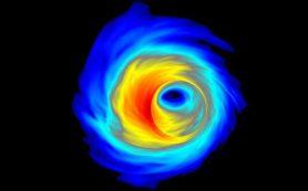 Гигантские «черные дыры-каннибалы» растут, поедая другие черные дыры