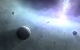 Существуют ли планеты, вращающиеся вокруг сверхмассивных черных дыр