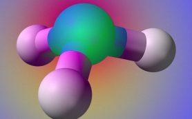 Сильное электрическое поле вынудило молекулу аммиака перестать выворачиваться