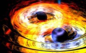 У сверхмассивной черной дыры в центре нашей галактики может быть друг