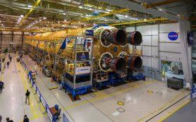 Завершена сборка центрального блока для сверхтяжелой ракеты SLS