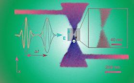 Физики смогли остановить электрон за фемтосекунду