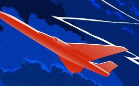 Ученые смоделировали высоковольтный разряд перед сверхзвуковым самолетом