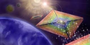 Световой парус выровняли в ускоряющем лазерном луче