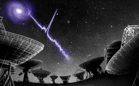 Быстрая радиовспышка в далекой галактике порождает больше вопросов, чем ответов