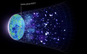 Группа древних галактик позволяет наблюдать конец «темной эпохи» Вселенной