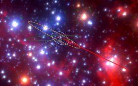 Черная дыра в центре Галактики «зажигает» новые звезды необычного типа