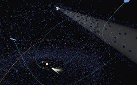 Кометы, покидающие Солнечную систему, вероятно, прибыли издалека, нашли ученые