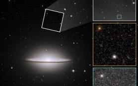 Необычный звездный состав гало галактики Сомбреро указывает на «бурное прошлое»