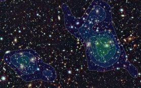 Темная материя и массивные галактики