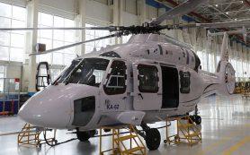 Началось производство опытной партии вертолетов Ка-62