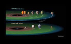 Как планеты системы TRAPPIST-1 получили свою воду?