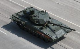 Танк Т-14 прошел испытания в Сирии