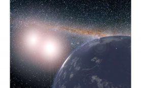 Вода постепенно переходит в камень на богатых водой планетах Галактики
