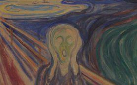 Влага, а не свет ухудшает состояние картины «Крик» Эдварда Мунка