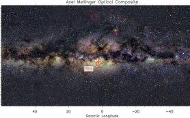 «Красный флаг» в центре Галактики раскрывает подробности ее устройства