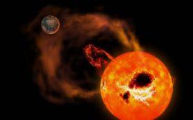 Новый японский телескоп Seimei увидел сильную вспышку на соседней звезде