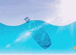 Атлантический океан спрятал частицы микропластика под поверхностью