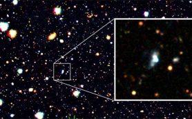 Обнаружена удивительно молодая галактика