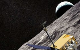 Ученые смогли «поймать» отражение луча лазера от рефлектора лунного аппарата LRO
