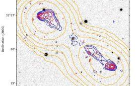 Открыто пять новых гигантских радиогалактик