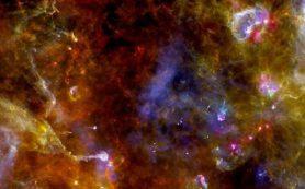Астрофизики доказывают, что частицы пыли в космосе смешиваются со льдом