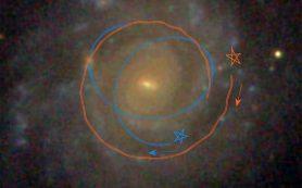 Массивные сгустки газа объясняют постепенное изменение яркости дисковых галактик