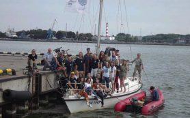Ученые-океанологи и студенты ведущих вузов провели научные работы в Калининградском заливе и Балтийском море