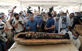 В Египте нашли 59 нетронутых саркофагов