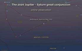 Великое соединение Юпитера и Сатурна в 2020 году