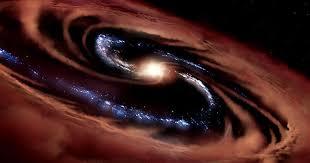 Галактика пережила «пиршество» черной дыры – но вряд ли надолго