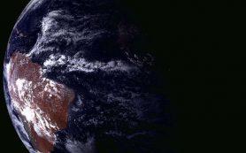 Аппаратура РКС произвела съемку солнечного затмения в Южной Америке из космоса