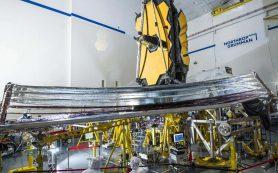 Солнечный экран космического телескопа James Webb успешно проходит испытания