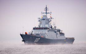 Российский флот получил головной корвет проекта 20385