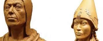 Антропологи реконструировали облик скифских «царя» и «царицы»