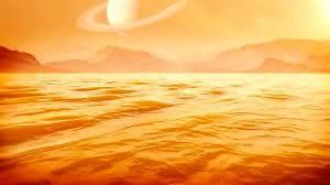 Глубина крупнейшего моря на Титане составила около 300 метров