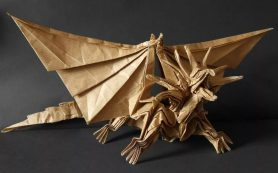 Оригами – древнее искусство в современном интерьер